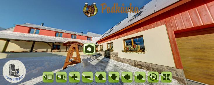 Virtuální prohlídka restaurace Podkůvka